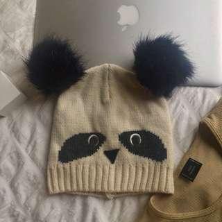 Myer Panda Beanie