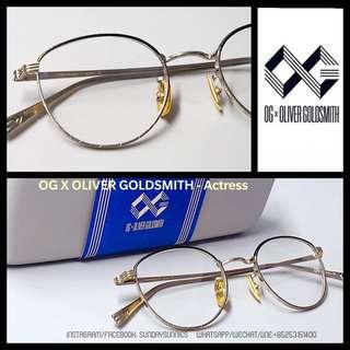 OG x Oliver Goldsmith actress titanium eyeglasses