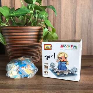 BN iBlock LOZ Diamond Nanoblock - Frozen Elsa