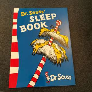 4-7Y NEW Dr Seuss Sleep Book Story Book