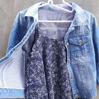 Bundle G - Denim Jacket and Top