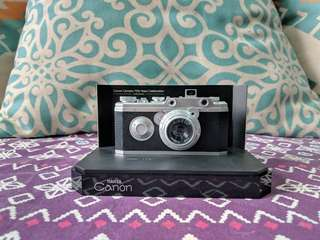 Miniature Canon Hansa Model Camera *Limited Edt*