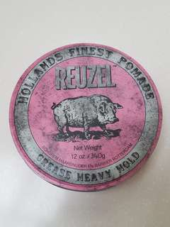 Reuzel pomade pink heavy hold 12oz