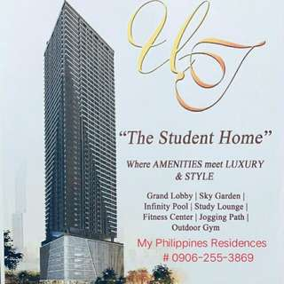 PRE-SELLING Residential, Commercial in University Tower 5 España Manila