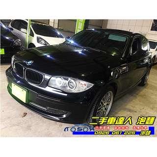 2011年 BMW 118i 黑