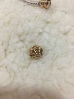 Pandora real 14k or 18k gold