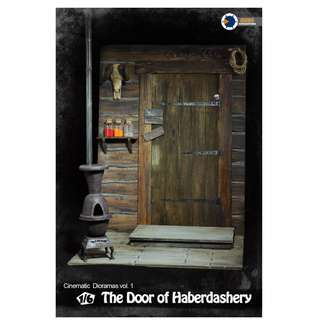 [PRE ORDER] Asmus Toys - CD01 - Cinematic Dioramas Vol. 1 - The Door of Haberdashery - 1/6 Collectible Diorama Accessories
