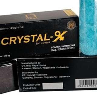 Crystal x 100% ORIGINAL