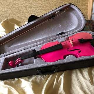 4/4 pink Violin