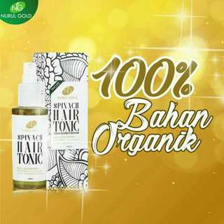 Spinach Hair Tonic By Nurul Gold 🌺Readystock🌺