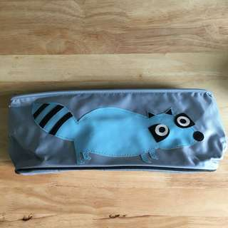 Stroller Organizer Bag, Blue Raccoon