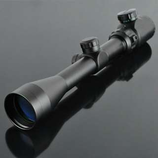 Scope 3-9x40 red/green illumination for sport