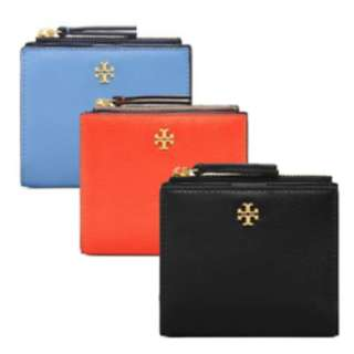 美國專櫃TORY BURCH ROBINSON PEBBLED MINI WALLET