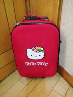 "Hello Kitty 20"" hand carry luggage"