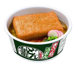 現貨。油豆腐烏冬杯麵