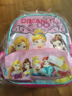 Princess Bag with pencil case