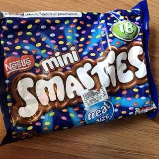 smarties mini/box