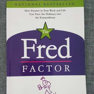 The Fred Factor book