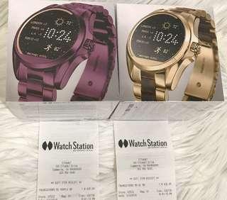 michael kors access smart watch