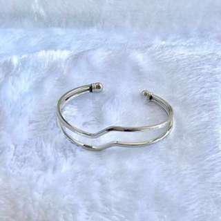 Cuff Bracelet (Sliver)