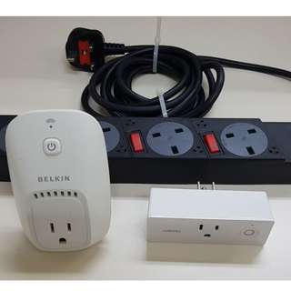 Wemo Mini Smart Plug + Wemo Plug + Freebies (Multi Plug & etc)