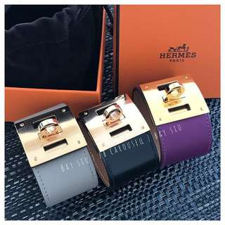 全新 Hermes Kelly Dog Bracelets