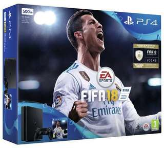 PlayStation®4 FIFA 18 Bundle