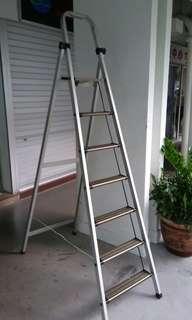 7 stairs Aluminium Ladder