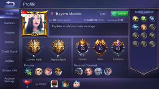 Mobile Legend Acc