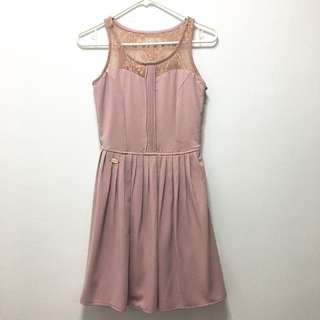 Candie's Old Rose Sleeveless Dress