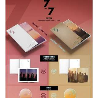 GOT7 7 for 7 Album WTS