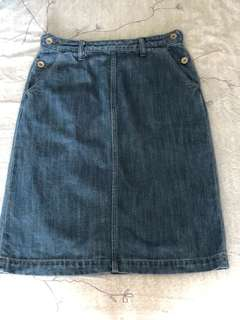 Sporting & Style Denim Skirt (Size 4)
