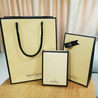 Braun Buffel Men's Wallet Gift Wrap set