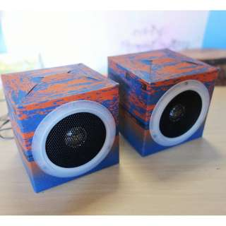 NEW OrigAudio Fold and Play Recycled Speakers
