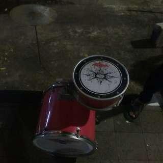 Drum music edisi di bagi sama boss
