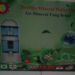 Healthy mineral water