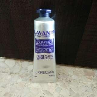 L'occitane Lavander Hand Cream 30 ml