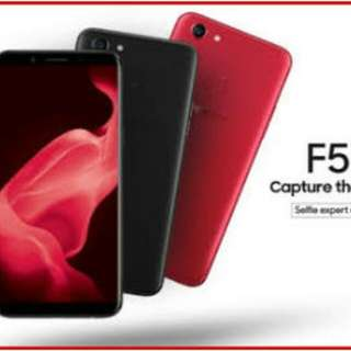 Dijual Oppo F5 Pro Promo Bunga 0,99% Pakai Home Credit