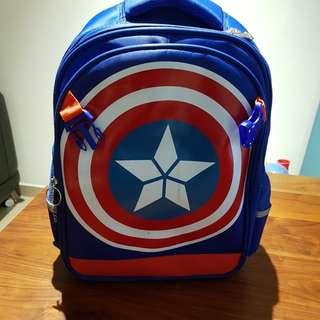 Captain America schoolbag