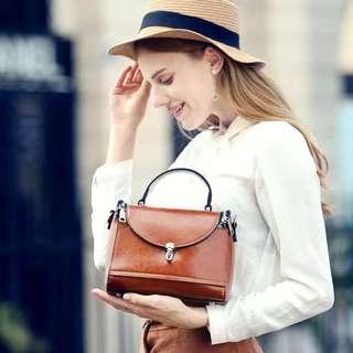 Genuine leather lady bag 歐美時尚真皮包