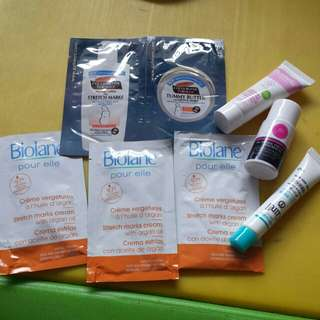 Want to bless Stretch marks cream sample
