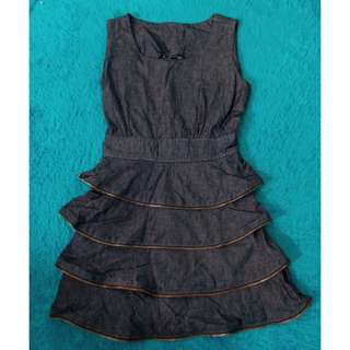 Mini Dress jeans Resleting