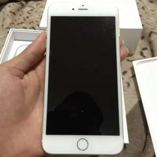 iphone 6 plus 64gb/gold
