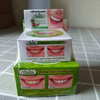 Herbal Clove Coconut Toothpaste