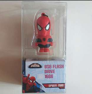 Spiderman 16GB Flash Drive