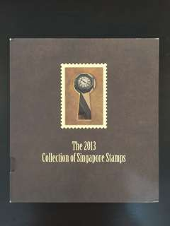 2013 Collection Of Singapore Stamps