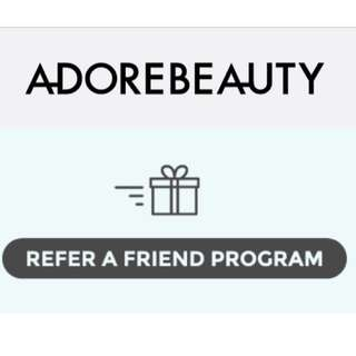 Adore beauty $10 voucher