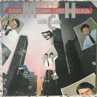 Roger McGuinn & Chris Hillman Featuring Gene Clark* ‎– City LP