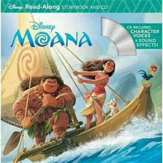 [Brand New] Moana (Read-Along Storybook and CD)  By: Disney Storybook Artists