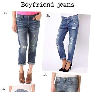 Uniqlo Boyfriends Jeans